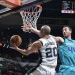 Impresionante: Ginóbili cumplió 1000 partidos en la NBA