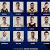 Los 12 de la Selección Argentina para enfrentar a Venezuela