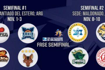 Las semis de la LSB con tres equipos argentinos