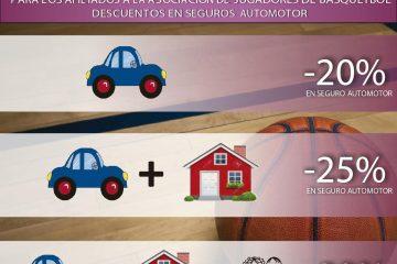 Descuento en seguro automotor para afiliados de AdJ