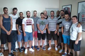 Productiva reunión con jugadores del Federal