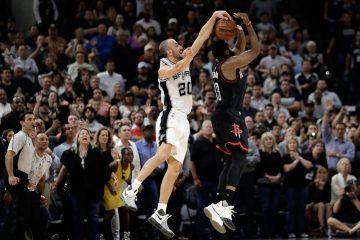 Con un Manu clave, los Spurs están en otra final de Conferencia