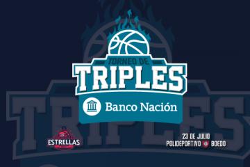 El Juego: torneo de triples Banco Nación por parejas