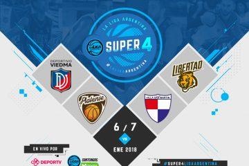 Los clasificados para el Super 4 de la Liga Argentina