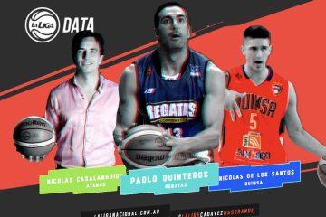 Paolo y Nico, destacados en estadísticas de La Liga