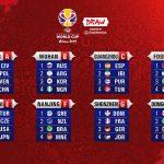 El grupo de Argentina y las fechas en el Mundial 2019