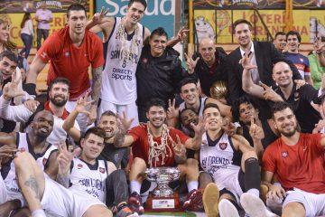 San Lorenzo es tricampeón de la Liga Nacional