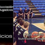 Nuevo servicio Adj: Paula Amiano, nutricionista deportiva